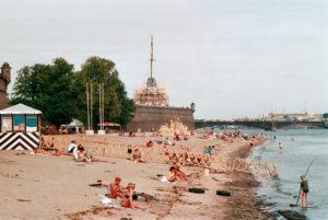 Spiaggia sull'isola delle Lepri