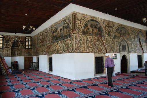 Tirana - I dipinti della Moschea Ethem Bey