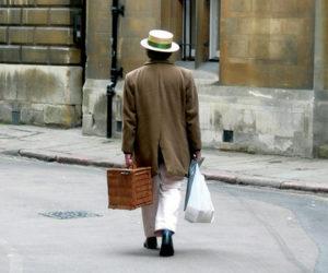 Uomo a Cambridge
