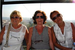 Tirana - Sula funivia per il Monte Dajti