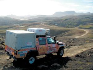 Islanda Pista interna